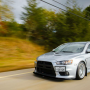 evo x as black kit road