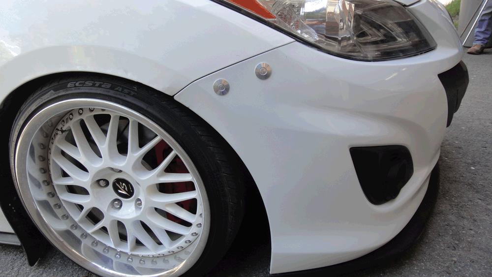 Mazda Speed 3 Gen 2 Bumper Quick Release Kit Billet