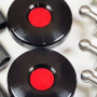 black mini red center